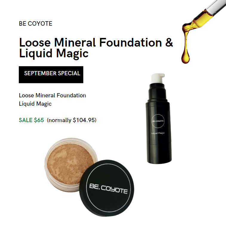 Loose Mineral Foundation & Liquid Magic Special