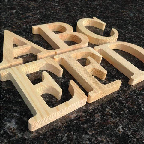 HOMAURA Home Decor Wooden Letters