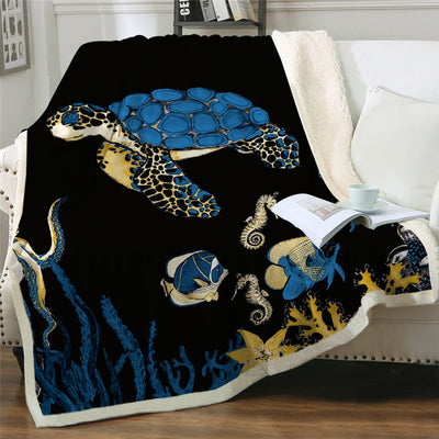 Fluffy Fleece Throw Blanket - HOMAURA®