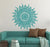 Mandala Louts Flower Wall Art Wall Decal Sticker