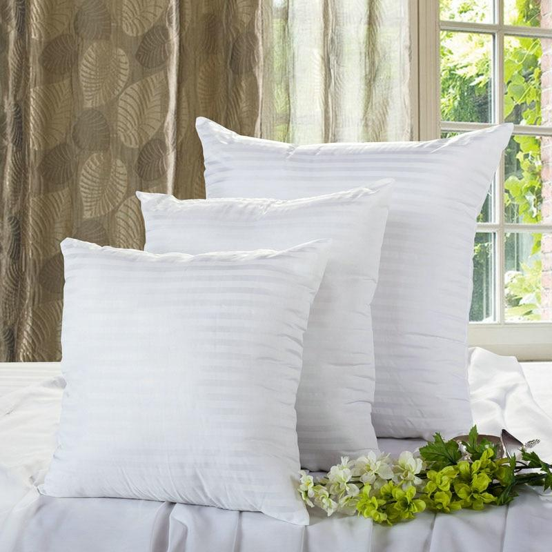 Soft White Cushion Insert Filling Pillow