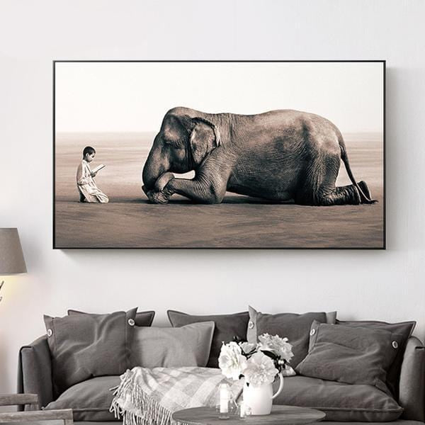 Wall Decor Elephant - HOMAURA®