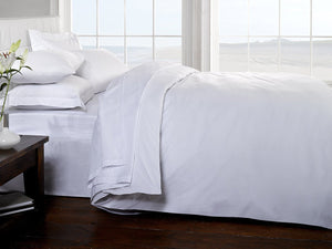 Belle Maison 400 Thread Count 100% Egyptian Cotton Sateen White Duvet Cover