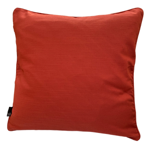 LINEN DEEP Linen Cushion Cover, 45 x 45cm, Burnt Orange