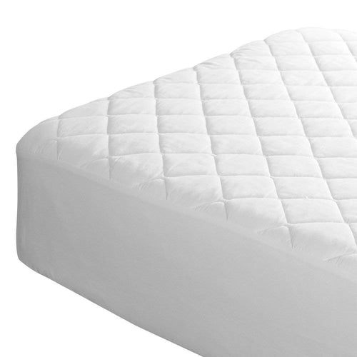 Quilted Polyester Fitted Mattress Protector by Fogarty