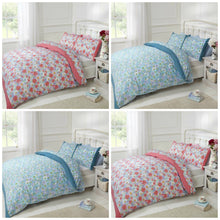 Teal Petula Duvet Cover Set by Rapport (Single Bed Size Only)