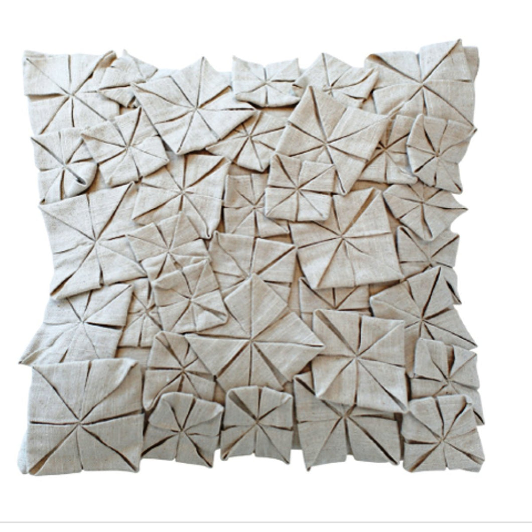 ORIGAMI Cream 3D Cushion