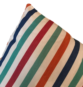 ARYA Striped Cushion Cover, 45 x 45cm, Multi Coloured