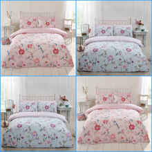 Duck Egg TRANQUILITY Reversible Duvet Cover Set by Rapport