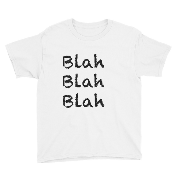 Blah Youth Short Sleeve T-Shirt