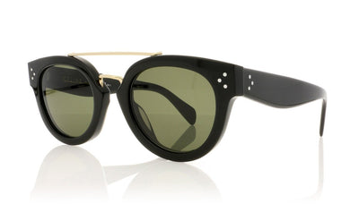 Céline New Preppy CL41043/S 807 Black Sunglasses da VSTA
