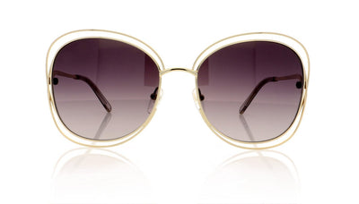 Chloé Carlina CE119S 734 Gold Sunglasses da VSTA
