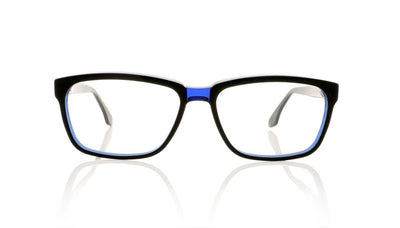 Claire Goldsmith Curtis 4 Black Indigo Glasses da VSTA