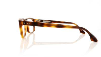 Claire Goldsmith Curtis 5 Matte Dark Tortoiseshell Glasses da VSTA