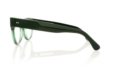 Claire Goldsmith Irwin 13 Green On Jade Glasses da VSTA