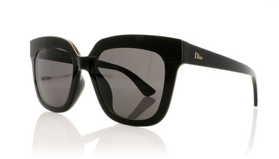 Dior Soft 2 D28 Shiny Black Sunglasses da VSTA