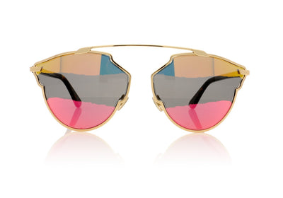 Dior So Real A J5G Gold Sunglasses da VSTA
