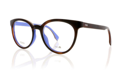 Fendi FF 0159 TLG Havana Blue Glasses da VSTA