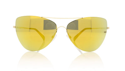 Finest Seven Zero 10 YGLD Yellow Gold Sunglasses da VSTA