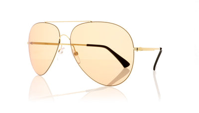 Finest Seven Zero 11 YEL-LB Yellow gold Sunglasses da VSTA