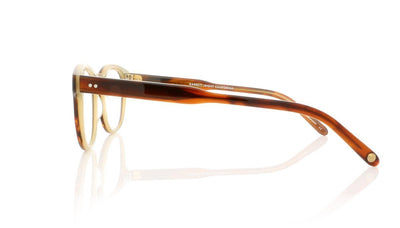 Garrett Leight Warren 1051 WHT Whiskey Tortoise Glasses da VSTA