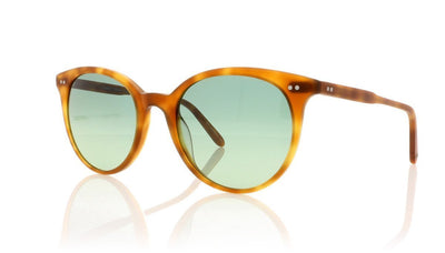 Garrett Leight Dillon 2027 MHBT/SGRNG Matte Honey Blonde Tortoise Sunglasses da VSTA