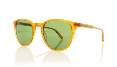 Garrett Leight Milwood 2032 BT/PGN Butterscotch Sunglasses da VSTA