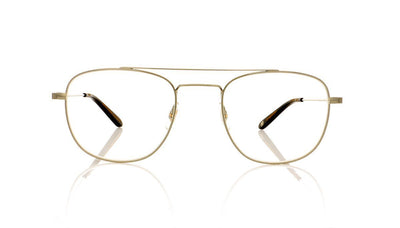 Garrett Leight Club House 3016 BS-CHR Brushed Silver Glasses da VSTA