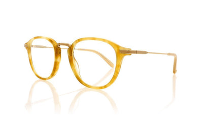 Garrett Leight Hampton Combo BSH-BN Blonde Shell Glasses da VSTA