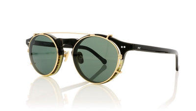 Hadid Eyewear Captain HAD08 C2 Horn & Black Sunglasses da VSTA