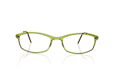 Lindberg n.o.w titanium 6512 C11/PGT Translucent olive green with matt gold sides Glasses da VSTA