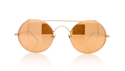 Linda Farrow LFL/427 C3 Rose Gold Sunglasses da VSTA
