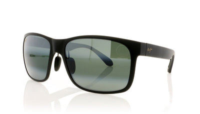 Maui Jim MJ432 2M Mj Matte Black Sunglasses da VSTA