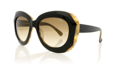 Oliver Goldsmith Norum 12 Black Wood Sunglasses da VSTA