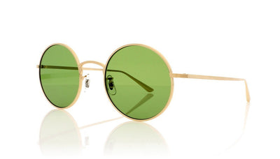Oliver Peoples After Midnight 0OV1197ST 525252 Brushed Gold Sunglasses da VSTA