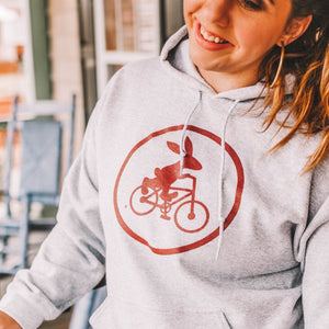 Swamp Rabbit Inn Hooded Sweatshirt - Sport Gray