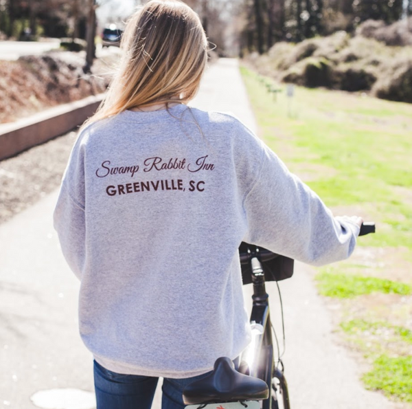 Swamp Rabbit Inn Crewneck Sweatshirt - Sport Gray