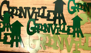 Greenville Heritage Metal Signs
