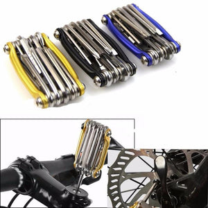 Bicycle Repair Tools for Bike 1Pc 11 In 1 Multi-function Bike  Wrench Chain Cutter Repair Tools Kit New Accessories part #EW
