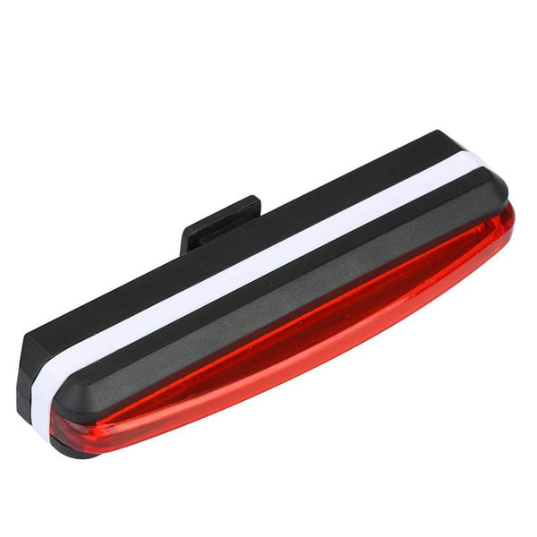 Bicycle Light USB Rechargeable LED Bike Front Rear Tail Light 6 Modes Lamp Set Cycling accessories#E5