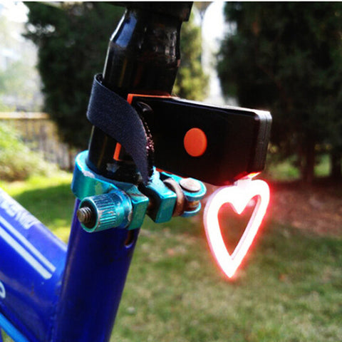 COB USB Bicycle Lights Lamp Night Cycling Rear Seat Back Lights Creative Bike Ball Tail Lights Safety Warning Bike Accessories #