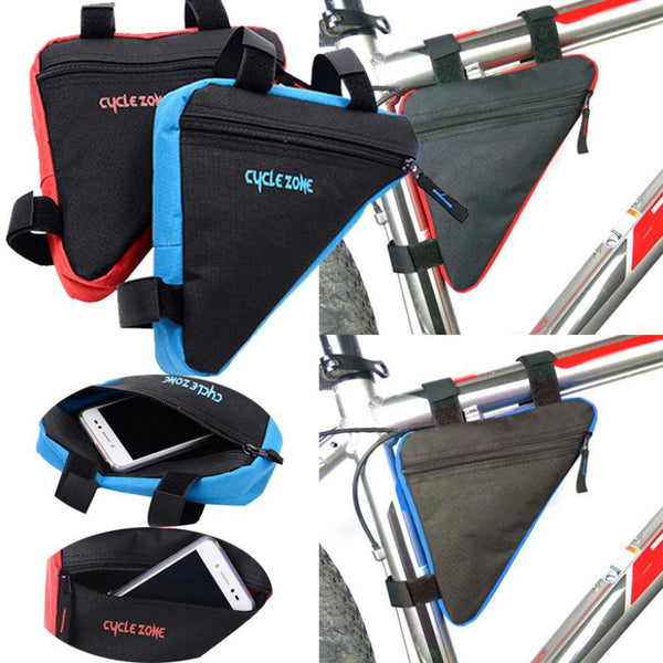 Mountain Road Bike Accessories Triangle MTB Bike Bag Bicycle Saddle Bag Cycling Top Front Frame Bag