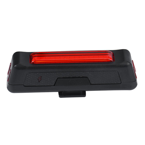 1PC COB LED Bike Cycling Front Rear Tail Light USB Rechargeable 6 Modes Red Bicycle Accessories #E0