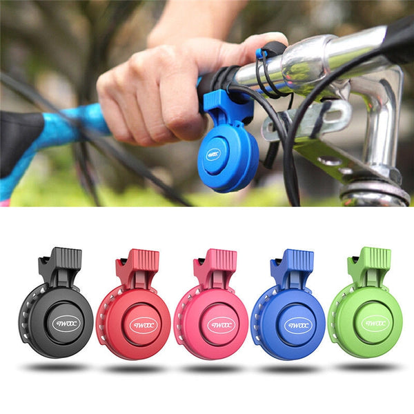 Electric Bike Horn Bike Bells 120 dB Invisible Bicycle Bell Road Bike USB Mini Cycling Handlebar Alarm Loud Horn Bells Ring Fit 22-31.8mm Waterproof IP65