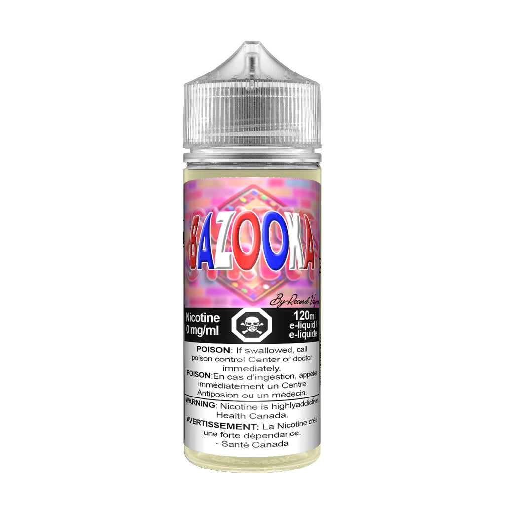 Bazooka E-juice by Record Vapes Online Canada