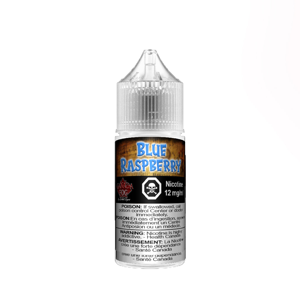 Blue Rasp Slush Salt Nic by Record Vapes Canada