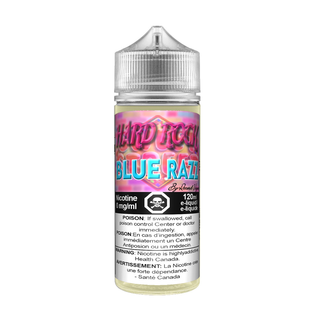 Hard Rock Blue Raspberry - Premium E-juice By Record Vapes E-juice London, Canada