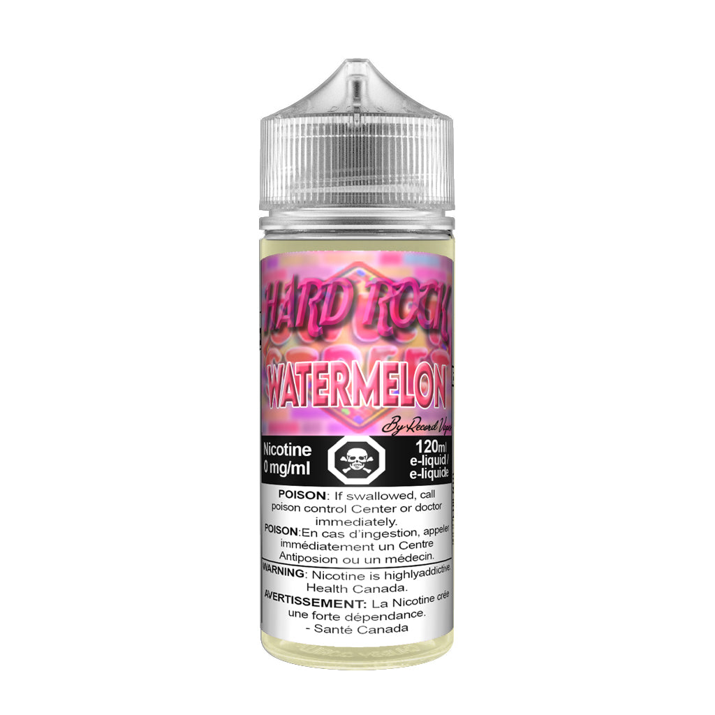 Hard Rock Watermelon - Premium E-juice By Record Vapes E-juice London, Canada