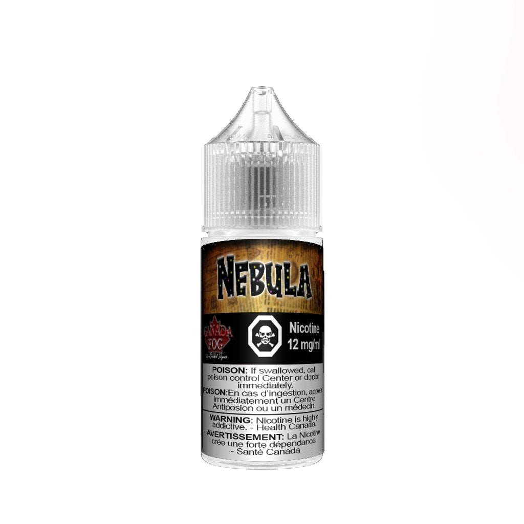 Nebula Salt Nic E-Juice by Record Vapes Online Canada