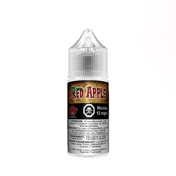 Red Apple Salt Nic 30ml - Record Vapes Premium E-juice Online / Free Shipping Over $55